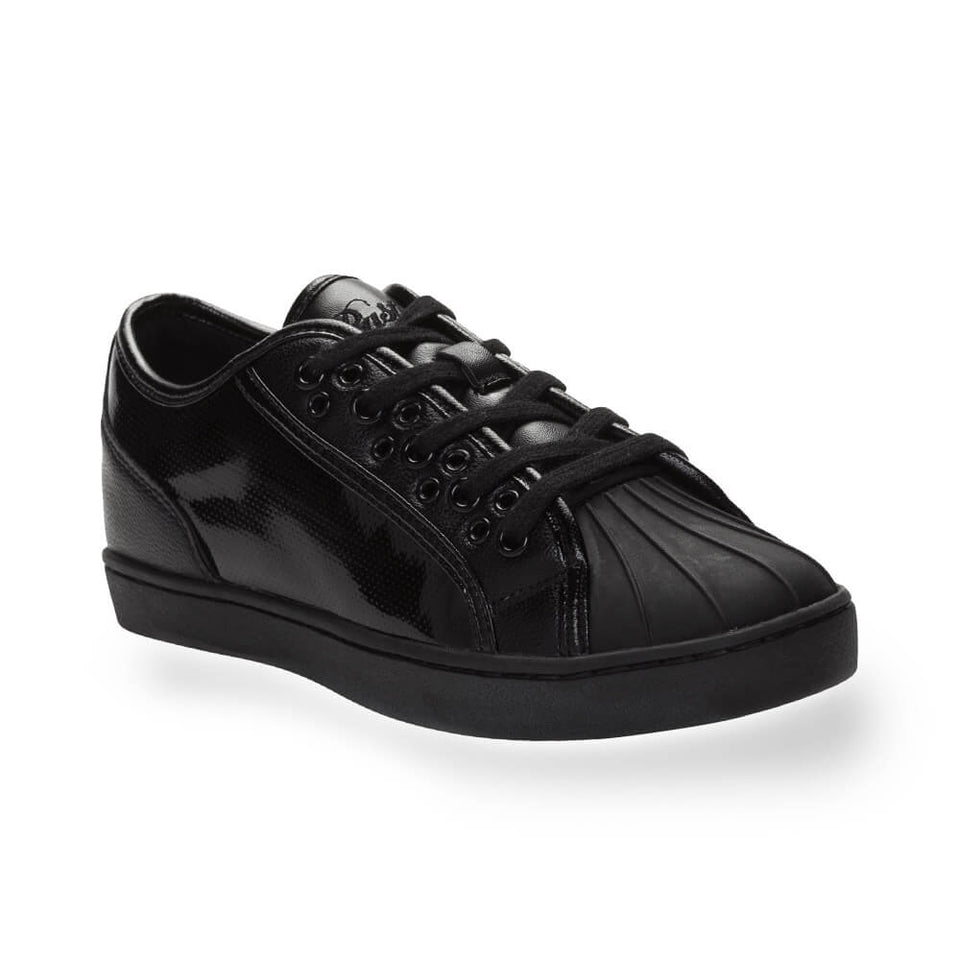 Pastry Paris Praline Adult Dance Sneaker in Black/Black