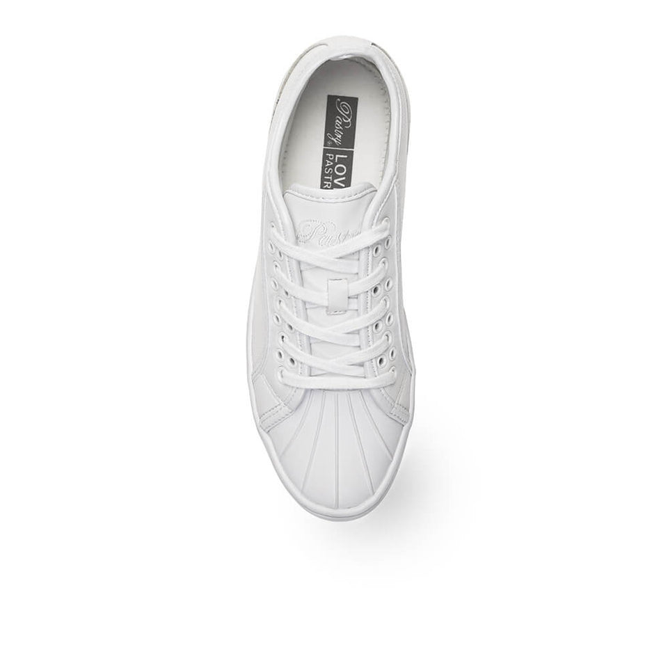 Pastry Paris Praline Adult Dance Sneaker in White