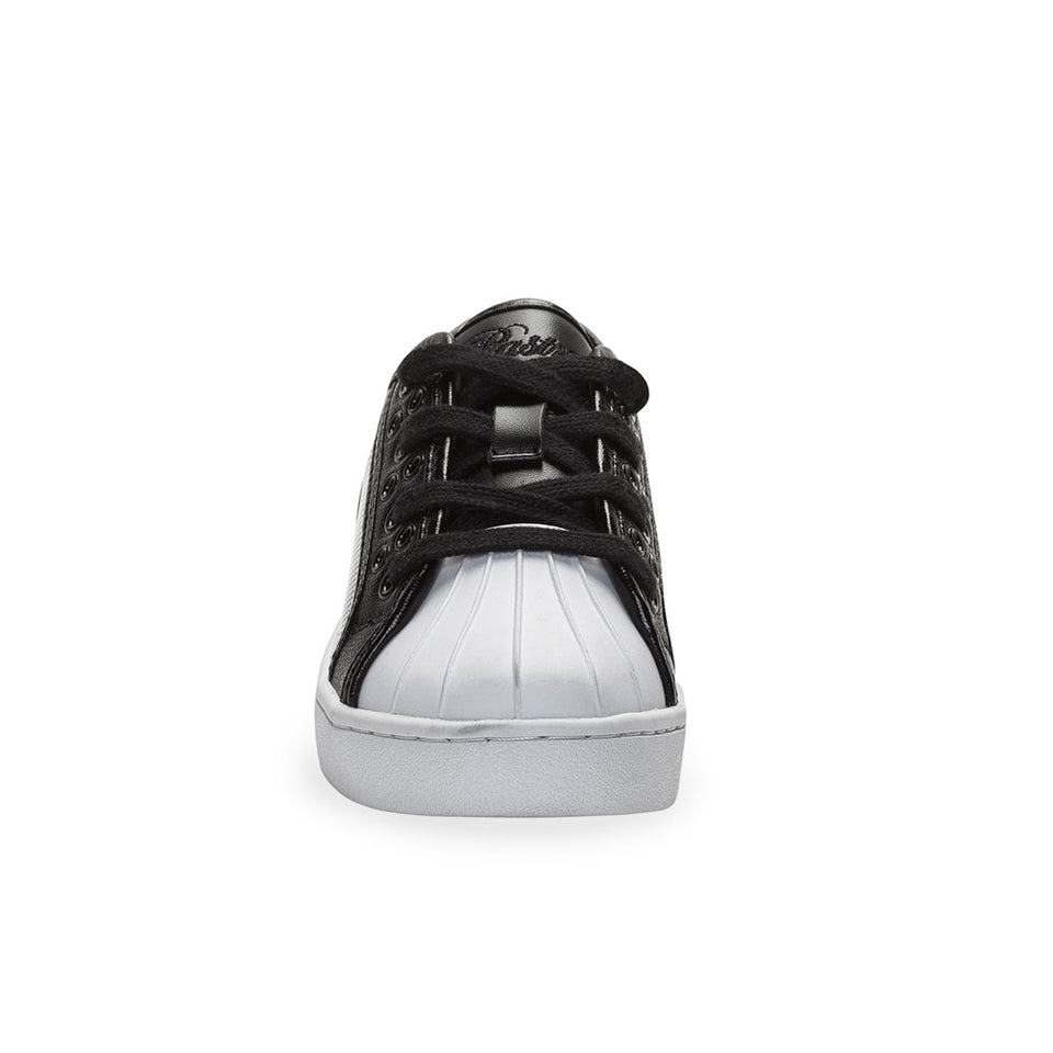Pastry Paris Praline Youth Sneaker in Black/White