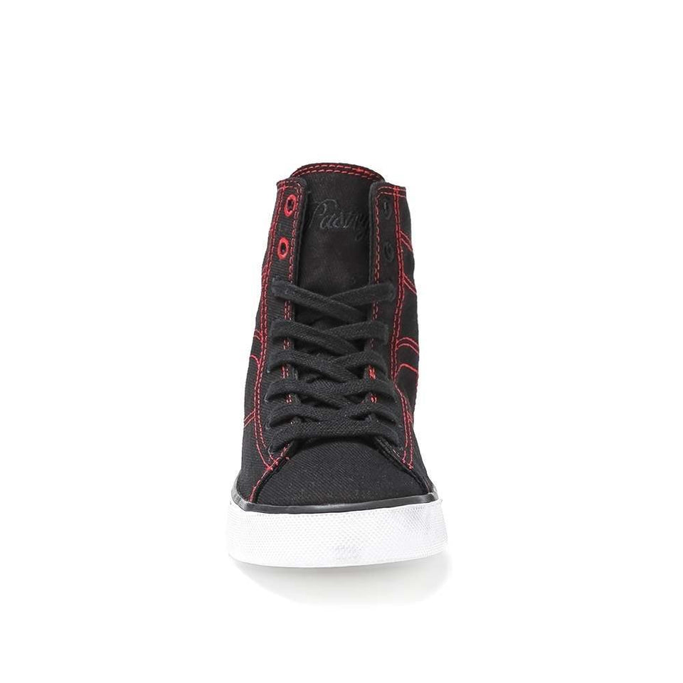 Pastry Cassatta Youth Dance Sneaker in Black/Red
