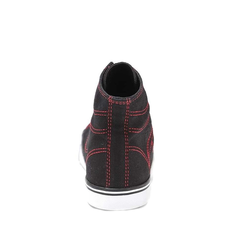 Pastry Cassatta Youth Sneaker in Black/Red
