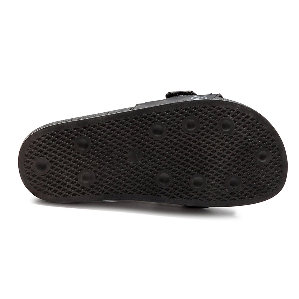 Pastry Youth Recovery Slide in Black