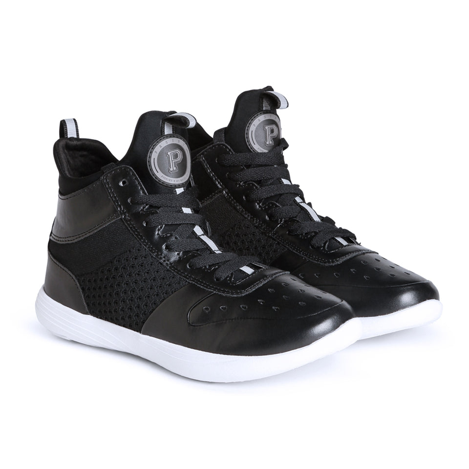 Pastry Ultimate Hip Hop Adult Dance Sneaker in Black/White