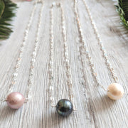 Sequin Pearl Necklace