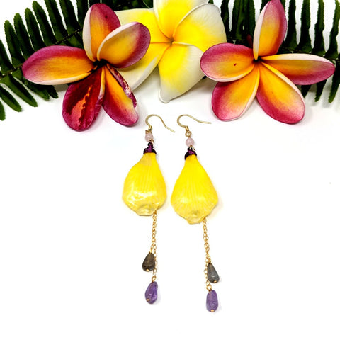 Lemon Sorbet Earrings