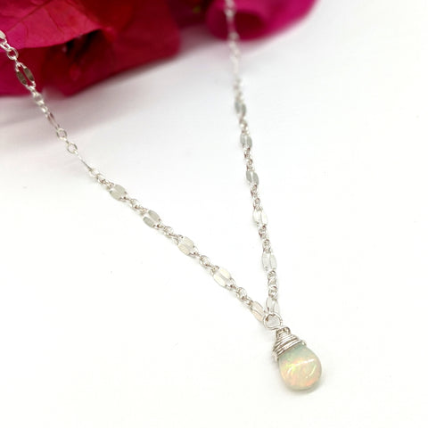 Lili`i Necklace - Ethiopian Opal