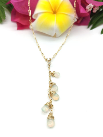 Venus Necklace - Ethiopian Opal