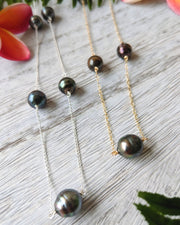 Nahenahe Necklace - Tahitian Pearls