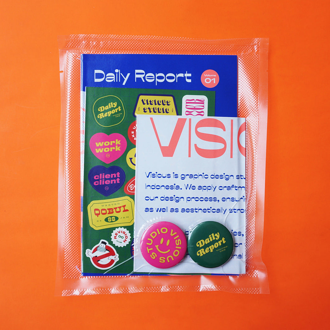 Daily Report Zine Vol. 01