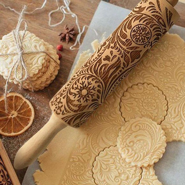 3D Wooden Rolling Pin