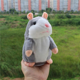 Talking Plush Hamster