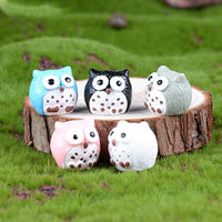5pcs of Miniature Owls