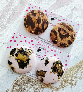 Wild Animal Button Bundle (Large)