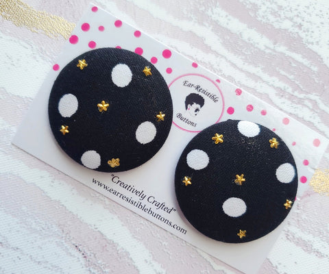 Starry Night Buttons