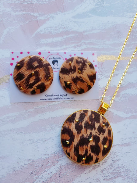 Completely Wild Earring & Necklace Set