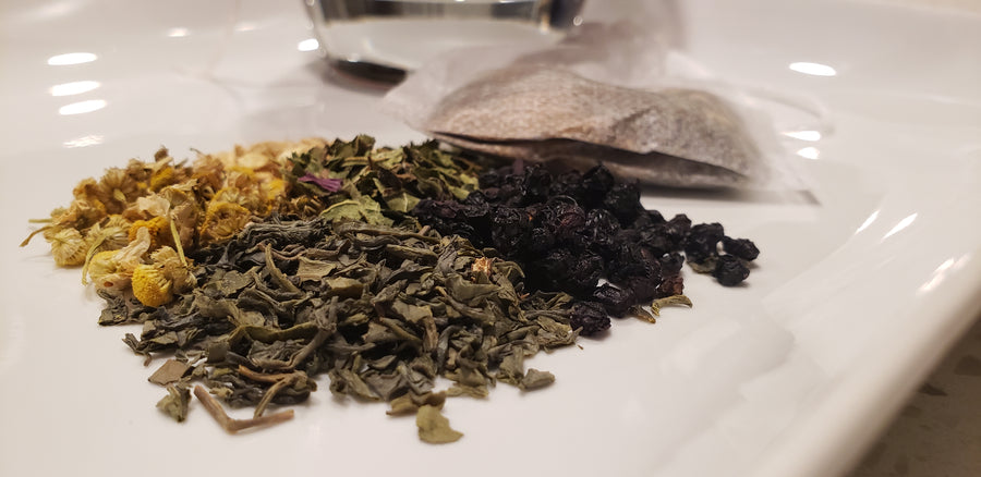 Organic Elderberry GreenTea