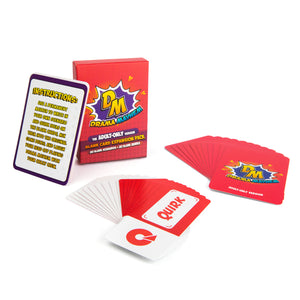 Blank Card Expansion Pack (For Adult-Only Version)