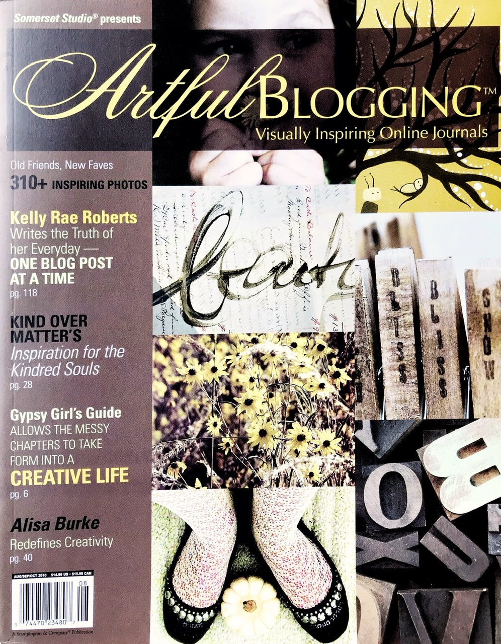 Artful Blogging Aug/Sept/Oct 2010 - Vol 4, Issue 3