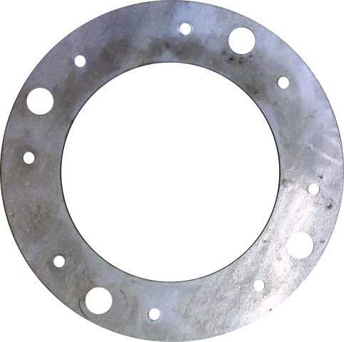 SD60 Metric to Standard 8-Lug Drill Plate