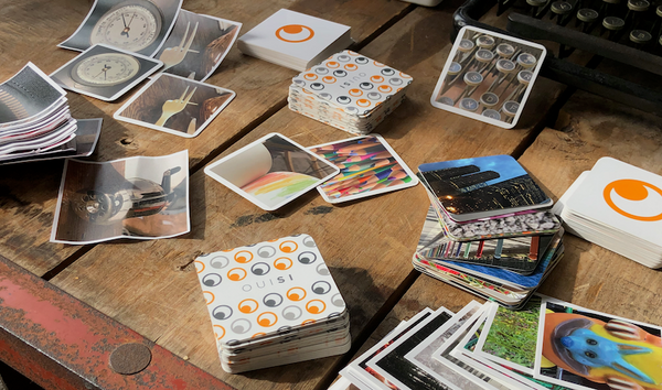 OuiSi connecting card prototypes