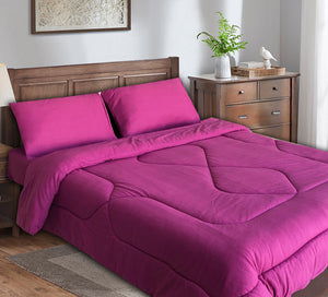 Double Comforter Set 4 Pieces Fleece