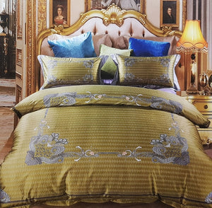 Goldcrest King 4PC Comforter Set Duvet Cover Set