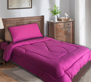 Single Comforter Set 3 Pieces Fleece
