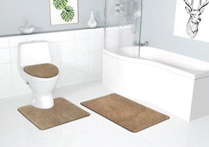 Alya Bathroom 3PC Set Automatic 3-piece bathroom floor set