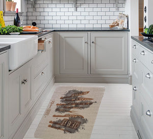 Kitchen Rug Leather kitchen flooring 67.5 * 100 cm