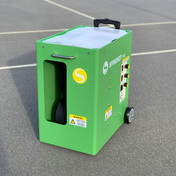 Spinshot Pro Tennis Ball Machine - Spinshot Sports US