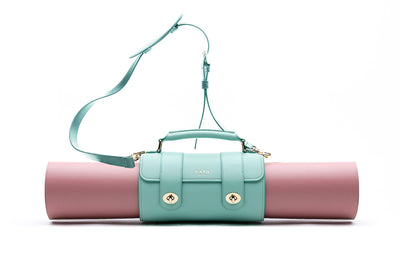 The Emmeline Yoga Mat Bag / Teal