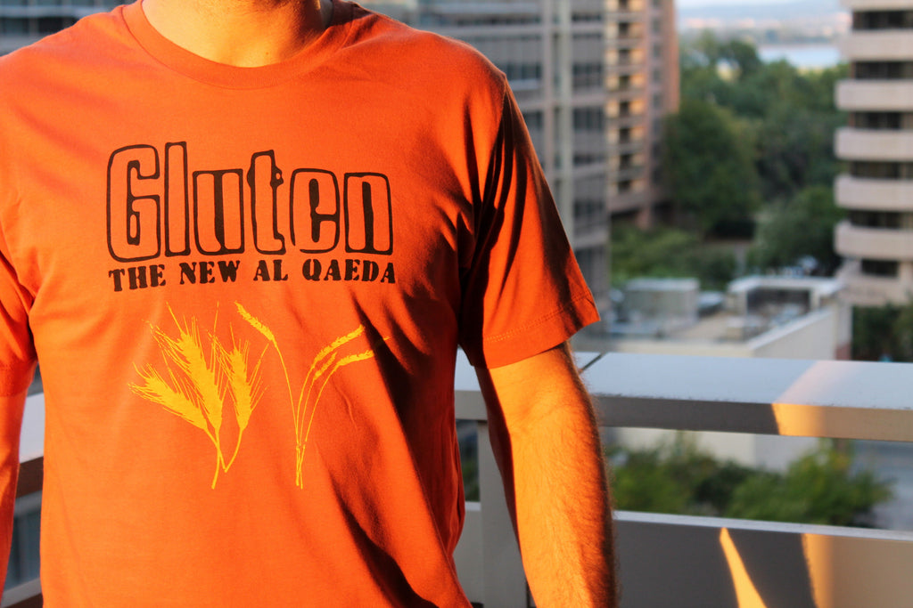 Gluten: The New Al Qaeda T-Shirt