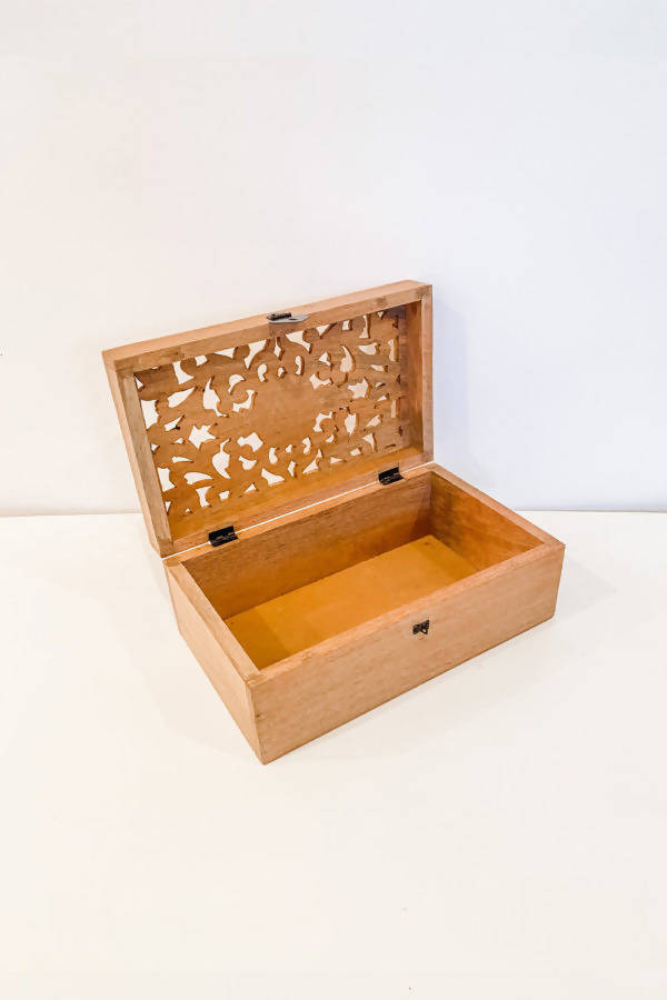 Wooden Boho Box / Wishing Well