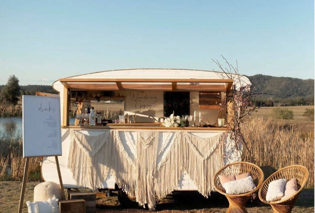 The Wandering Gypsy Caravan Bar - Don't be fancy,  Just get Dancy!