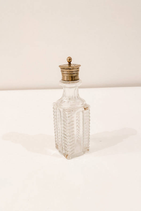 Small Decorative Crystal Bottle