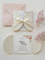 Sample Pack - 3 Handmade Invitations