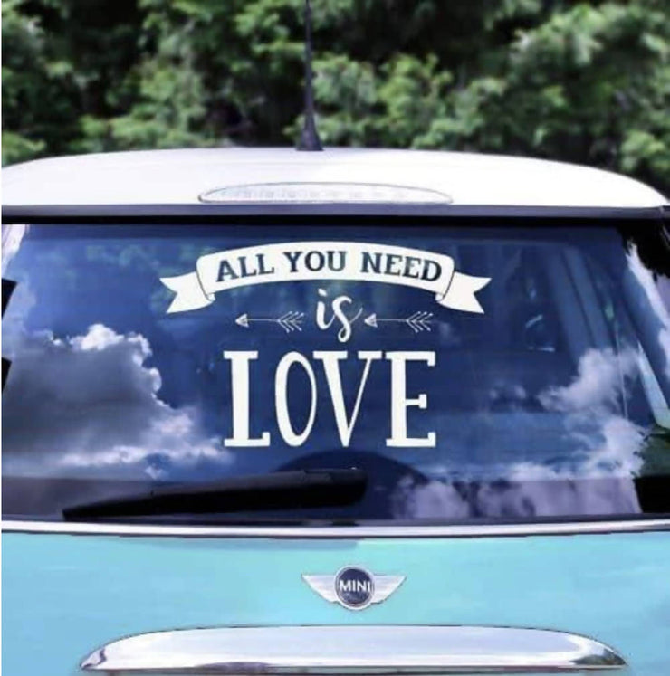 'All you need is love' Sticker