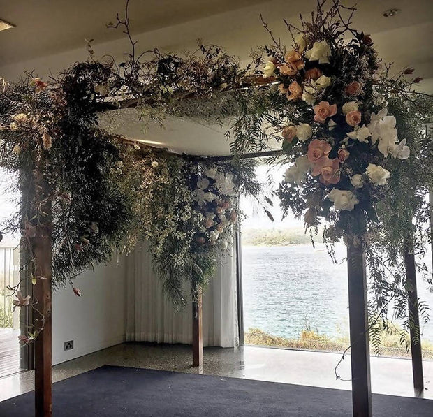 Canopy or Chuppah Floral Decoration