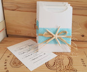 Summer Beach Invitation Sleeve A6 - Bahamas