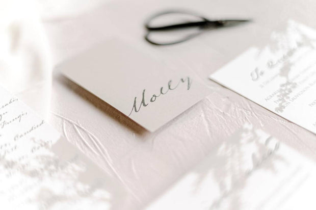 Molly | Shaddow placecard
