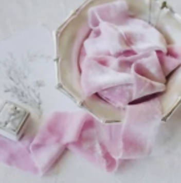 Amour Silk Velvet Ribbon