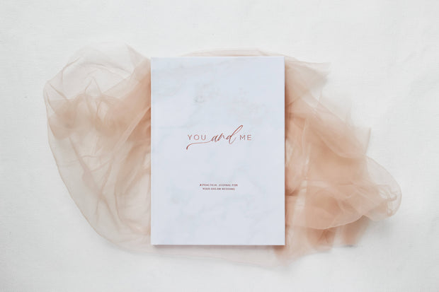 You & Me Wedding Planner Book