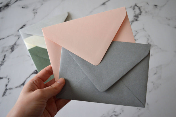 C6 (114x162mm) Envelope Euro Style perfect for Wedding RSVP Cards