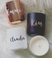 Personalised Vogue Candles