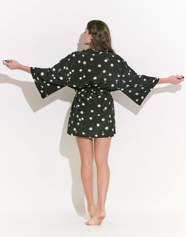 Fortuna Silk Robe