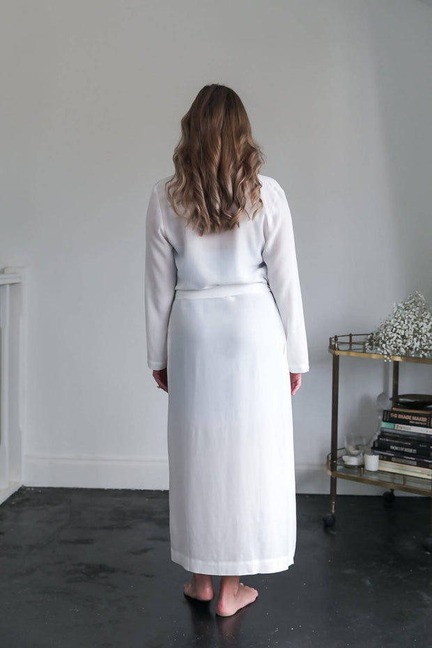 Luna Long Bridal Robe