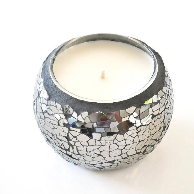 Black Mosaic Soy Wax Candles