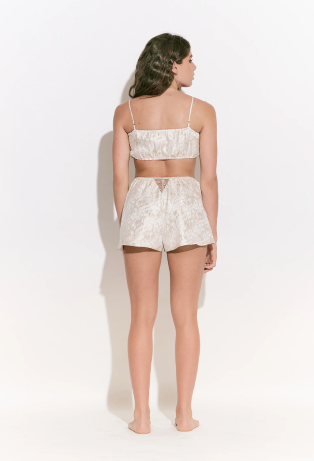 Lexa Silk/Lurex Short
