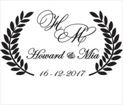 Personalised Wedding Dance Floor Sticker