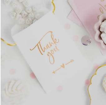 'Thank You' Paper Favour Bag | 6 Pk